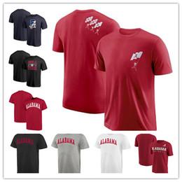 2019 magliette in tee originali T-shirt girocollo a manica corta Alabama Crimson Tide Tee Shirt a manica corta originale. Spedizione gratuita magliette in tee originali economici
