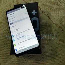 2019 telas baratas Direto Da fábrica Barato Tela Cheia de 6.4 polegadas Goophone S10 mais S10 + 1 GB 8 GB Mostrar 512 GB Mostrar 5G Android 3G Desbloqueado Celular desconto telas baratas