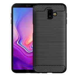 Samsung galaxy prime core silicone en Ligne-vente de chaud: Samsung Galaxy J5 J6 Prime Plus de base Cas de téléphone cadeau Pro cas de téléphone mobile anti-choc empreintes digitales anti-choc