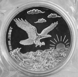 Deutschland Details zu Chinesischer Shanghai Mint 5 Unze Adler DCAM Proof Art Medal Versorgung