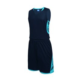 ce992182a982d Satış takım elbise çizimi internet üzerinden Yeni Erkek Kadın Basketbol  Formaları Setleri Üniforma Takım Spor Takımı