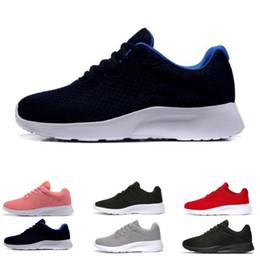 5c375ddca1a mens boots sale Coupons - Hot sale Tanjun Run Running Shoes men women black  low Lightweight