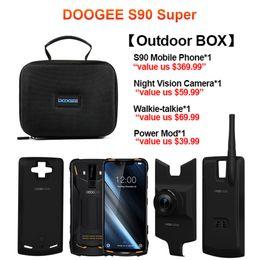 IP68 / IP69K DOOGEE S90 modulaire robuste téléphone portable affichage 6.18inch 5050mAh Helio P60 Core 6GB 128GB Android 8.1 16.0M Cam ? partir de fabricateur