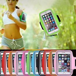 brazalete samsung iphone Rebajas Resistente al agua Funda para brazalete para teléfono celular Sports Running Gym Funda para brazalete impermeable Pounch para iPhone funda iPhone x Huawei Samsung