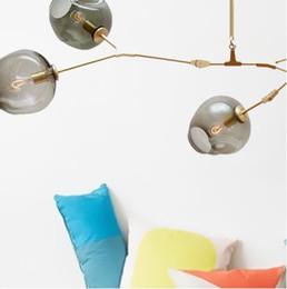 Lampe boule de cristal, suspension moderne araignée nordique ? partir de fabricateur
