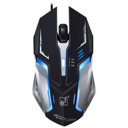 Ratón de respiración online-K1 Luz de mouse Luz de respiración fresca Concepto de automóvil deportivo Aspecto mecánico Cableado USB Juego Ratón móvil Computadora