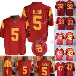 fe0ecefaf7a marcus allen jerseys Coupons - College USC Trojans Jersey Woods Reggie Bush  Matt Barkley O.J Simpson