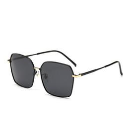 272aba345ba6f Lunettes de soleil polarisées de luxe hommes en alliage de métal conduite  lunettes de soleil carré Vintage oculos de sol polarizado militaire  Eyewears avec ...