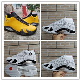 баскетбольные кроссовки размер 14 Скидка 2019 Новые прибытия всячески препятствовать в XIV 14 черный белый воздухопроницаемый мужчины баскетбол обувь хорошего качества для спортивных тренеров 14С дизайнер кроссовки размер 40-4