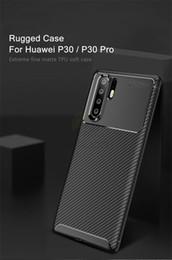 Keajor Yumuşak Kılıf Için Huawei P30 P30Pro Durumda Karbon Fiber Zırh Telefon Kılıfı Silikon Koruyucu Arka Kapak Için Xiaomi 9 Redmi Note7 pro Coque cheap redmi phone cover nereden redmi telefon kapağı tedarikçiler