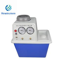 Equipo funcional online-Equipo de laboratorio Nuevo equipo de soporte Bomba de vacío de agua circulante multifuncional / Bomba de vacío de plástico eléctrica pequeña