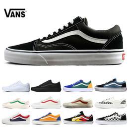 ae6bc5937 VANS Fear of God Old Skool zapatos de skate de lona auténticos diseñador  para mujer zapatos casuales zapatillas deportivas zapatillas de deporte  tamaño 36- ...