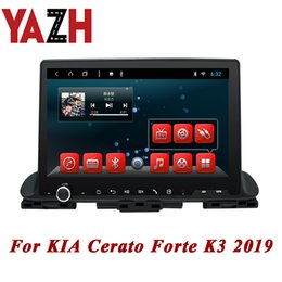 2019 kia cerato stereo YAZH Android 8.1 autoradio 2 GB 32 GB autozentrale multimedia Für KIA Cerato Forte K3 2019 Haupteinheit Player 1080 * 600 display radio auto dvd rabatt kia cerato stereo