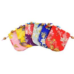 2020 bolsa china china 10x11 cm Bolsas de Joyería Mini Partido Favores Embalaje Regalos Bolsas Boda Navidad Seda China Brocade Drawstring Bag Pouch