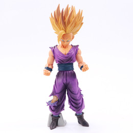 capitão cracas Desconto Dragon Ball Z Super Estatueta OS SUPER SAIYAN GUERREIROS Troncos v filho Goku-black pvc Figura Brinquedos modelo