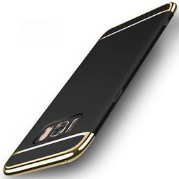 Примечание край тонкий чехол онлайн-Тонкий гибридный бампер гальванических чехол для Samsung Galaxy Note 9 S9 S9 + Примечание 10 Plus S10e S10 Plus S8 S7 край S6 Край