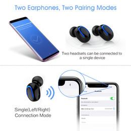 2019 syllable cuffia nera SYLLABLE HBQ-Q13S TWS Bluetooth V5.0 Sport  auricolari   a34d7a80475d