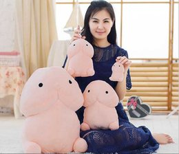 games sexy anime Coupons - 20cm Funny Plush Penis Toy Doll Soft Stuffed Creative Simulation Penis Pillow Cute Sexy Kawaii Toy Gift for Girlfriend C