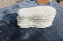 Piel de lana pura de invierno uno, hombres y mujeres, plantilla cálida desodorante, transpirable, gruesa y terciopelo, plantillas de algodón frío desde fabricantes