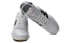 futebol, picos, sapatos Desconto Chuteiras De Futebol Original Copa Mundial FG Completa Branco Messi Ao Ar Livre Sapatos de Futebol Dos Homens Melhor Qualidade Copa Macio Spike Botas De Futebol