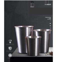 2019 rubinrote kristallgläser Außenhandel Edelstahl Single Layer Bier Tasse Pint benutzerdefinierte Geschenk Werbung Tasse Kaffeetasse maßgeschneiderte Großhandel