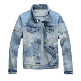 2019 veste militaire camouflage mens fashion 19FW Luxe Mens Designer Denim Vestes Hip Hop Hommes Femmes Rétro Veste Bleu Noir Mode Hommes Vêtements d'extérieur