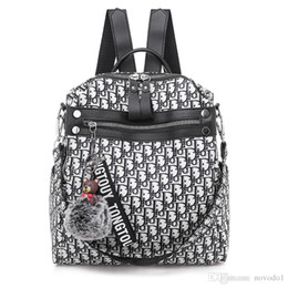 designer zaino per le donne Designer Bag Ladies Travel School Zaino per Teenage Casual Borsa ad alta capacità Pacchetto Drop Shipping da
