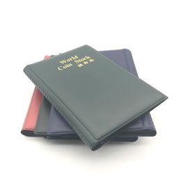 Tasche libri online-World Coin Stock PVC 120 Tasche Porta monete 3 Colori Collezione Libro Per Regali Per Feste Vendita Calda 5 5ym E1