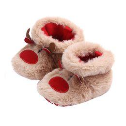 2019 bébé bottes chaussures noël bébé filles garçons bottes de neige mignonne chaleureuse en peluche infantile bambin chaussures mignonne ? partir de fabricateur