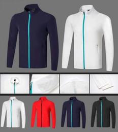 2019 OEM Dc гольф тонкий анти-UVA куртка Лето / Осень сухой быстрый защита от солнца ужин тонкий ветрозащитный слой 4 цвета от