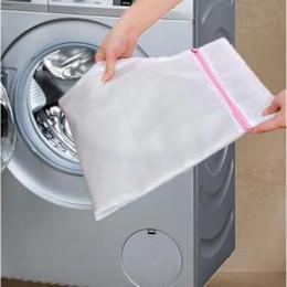 Çamaşır Mesh Net Çamaşır Torbası Giyim sütyen sox Lingerie Çorap Fermuarlı Çamaşır Torbaları Çamaşır Makinesi Temizleme Giyim Çanta FFA1461 cheap socks laundry nereden çorap çorapları tedarikçiler