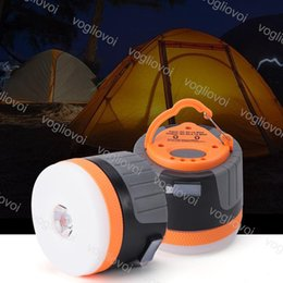 Batterie im freien hängen licht online-LED Outdoor Camping Lichter Mini 2 STÜCKE Lithium Batterie Laterne Zelte Lampe weiß Nacht Hängelampe USB Wiederaufladbare Lichter ABS TPE DHL