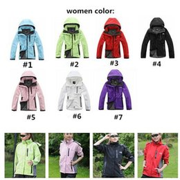 Brasão mulheres Designer Jacket The North camisola Coats face Autumn Sports Zipper Windbreaker casacos impermeáveis ​​Plus Size Hoodies Top C102407 de Fornecedores de hoodie do tex do gore