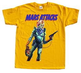2019 желтое небо Mars Attack V23 Футболка с плакатом Желтый Оранжевый Небесно-голубой Все размеры от S до 4xl дешево желтое небо