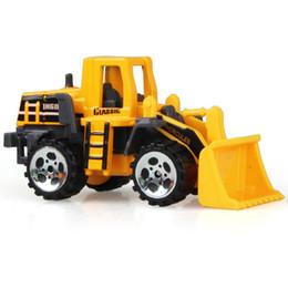 1: 64 tamanho médio inércia de imitação multi-tipo empilhadeiras misturadoras caminhões veículos de engenharia crianças escavadeira modelo de carro 38.5 * 10 * 4 cm de