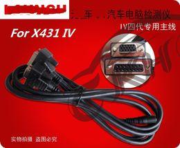 Lanzar x431 cable obd online-para lanzamiento Cable X431 OBD I II DLC Cable principal 431 Auto Diag IDIAG DIAGUN III IV V PRO 5C V + EOBD Cable de prueba Conector de cable