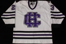 2020 camiseta de santa cruz Colégio da Santa Cruz Andrew McKay Ryan McGrath 2013-14 Hóquei Jersey Bordado Costurado Personalizar qualquer número e nome Jerseys camiseta de santa cruz barato