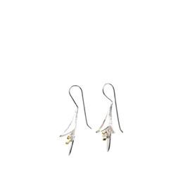 irmã Desconto Flor brincos mulheres moda jóias S925 brinco de prata para mulheres senhora presente para a irmã