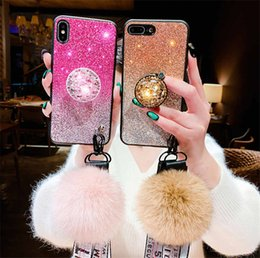 palla mobile Sconti Applicabile iPhone xsmax guscio del telefono cellulare flash polvere cordino staffa xr soft shell all-inclusive marea femmina 6s / 7/8 / più