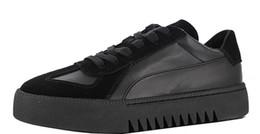 xo weeknd Desconto Com Caixa Womens Weeknd XO Terrains Sapatos de Plataforma para As Mulheres Hight Aumentando Sapatos de Camurça Da Menina Sapatilha Feminina Sneaker Senhoras Chaussures Feme