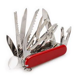 91mm de Aço Inoxidável Canivete Multifuncional Sobreviver Ferramenta Multifuncional Canivete Suíço Ferramenta Dobrável Para Acampamento Ao Ar Livre de Fornecedores de kits de beleza grátis