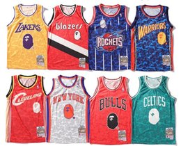 2019 Summer Fashion Hot Mens sportwear Imprimir Baloncesto Sin mangas camiseta Hombre Cuello redondo Baloncesto malla chaleco Tamaño M-XXL desde fabricantes