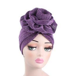 Canada Mode Femmes Musulman Hijab Polyester Turban Dôme Cap Chapeaux pour Chemo Hijab Head Foulards Headwrap Dames Fille Chapeau Cap Turbante cheap scarf fashion for muslim women Offre