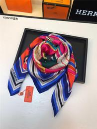 Pañuelo largo pañuelo online-Diseñador de la marca bufanda de seda moda mujer pañuelo largo chales y abrigos finos de alta calidad señoras bufandas para la cabeza hijab