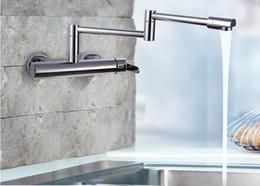 Rubinetto t online-Pieghevole Kichen Sink Faucet x6002 360 Girevole Single Handle Rubinetto Doccia Set Cromo Finlish Miscelatore Cascata Accessori T 161222 # 161225