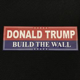 serbatoio del gas del motociclo di honda Sconti Nuovo Trump autoadesivo 2020 Trump Campaign Sticker 2 automobili paraurti Trump etichetta adesiva (10 Pezzi) sacchetto del opp
