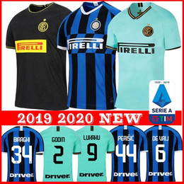 alexis jersey Coupons - LUKAKU LAUTARO SKRINIAR Inter 2019 2020 Milan soccer jerseys ALEXIS SENSI BARELLA jersey 19 20 football top kit shirts Men Kids sets uniform