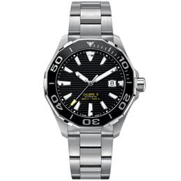 Japan movement relógio de quartzo on-line-Relógios de luxo cronógrafo de quartzo estilo clássico Japão movimento cinta de aço inoxidável à prova d 'água luminosa mens watch otomatik izle