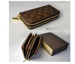 vente chaude nouveau portefeuille classique à glissière femelle boucle impression sac multi-carte à fermeture à glissière portefeuille carte pochette ? partir de fabricateur