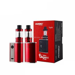 Bateria vogue on-line-Mini Vogue II Kit com Mini Vogue 50W Box Mod e 1.6ml Mini Polestar Tank 2200mAh Bateria